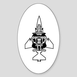 Phantom II & it's Gears Oval Sticker