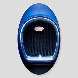 Bugatti4 Sticker (Oval)