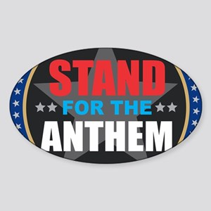 Stand for the Anthem Sticker