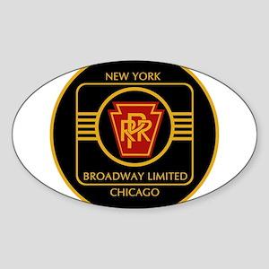 Pennsylvania Railroad, Broadway limited Sticker