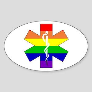 EMS Pride Oval Sticker