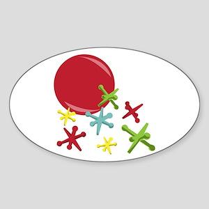 Toy Jacks Sticker
