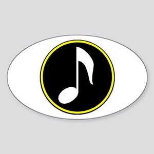 SING TO ME Sticker (Oval)