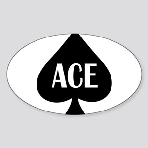 Ace Kicker Sticker (Oval)