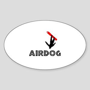 Airdog Snowboard Oval Sticker