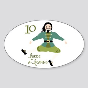 10 loRDS a- leaPiNG Sticker