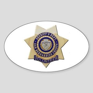 San Bernardino Volunteer Sticker