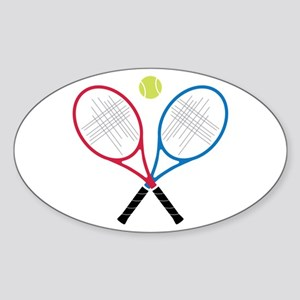 Tennis Rackets Sticker