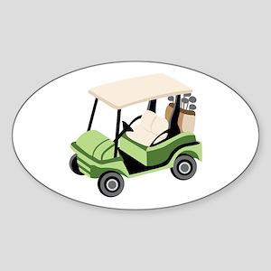 Golf Cart Sticker