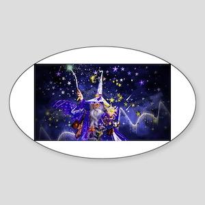 Merlin the Web Wizard Sticker