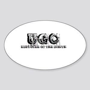 ugcemployee Sticker (Oval)