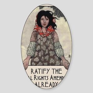 Ratify the ERA Sticker (Oval)