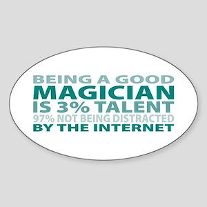 Good Magician Oval Sticker