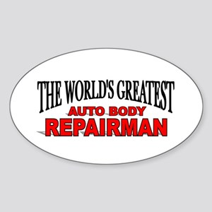 """The World's Greatest Auto Body Repairman"" Sticker"