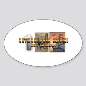 ABH NPS 100th Anniversary Sticker (Oval)