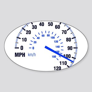 Racing - Speeding - MPH Sticker