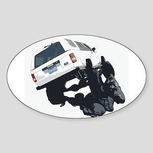 4x4JV Oval Sticker