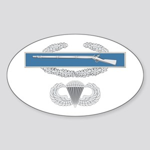CIB Airborne Sticker (Oval)