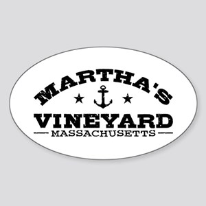 Martha's Vineyard Sticker (Oval)