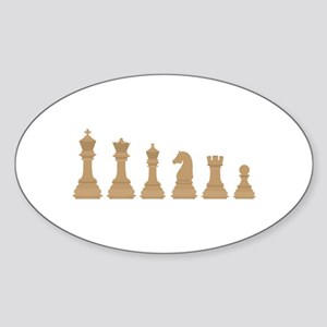 Chess Pieces Sticker