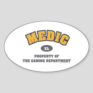BF2 Medic Oval Sticker