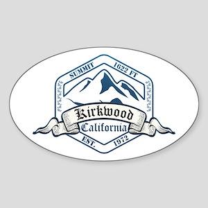Kirkwood Ski Resort California Sticker