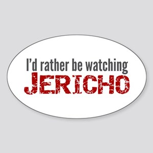 Jericho TV Show Sticker (Oval)