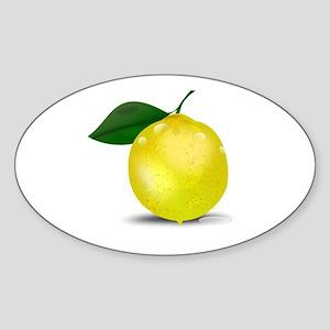 Lemon photorealistic Sticker
