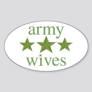 Army Wives Sticker (Oval)