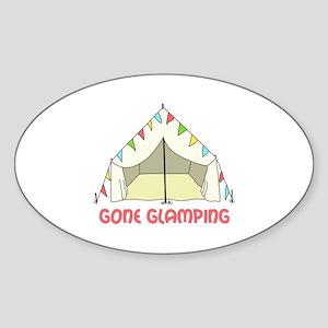 GONE GLAMPING Sticker