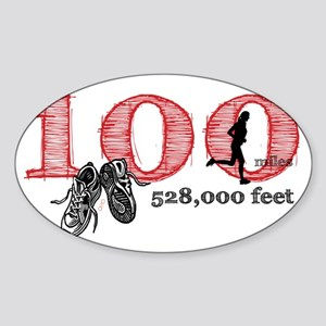 100rf Sticker (Oval)