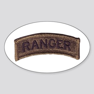 Ranger Tab, Subdued Sticker (Oval)
