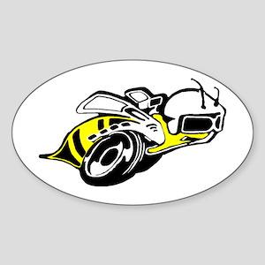 SUPER BEE 2 Oval Sticker