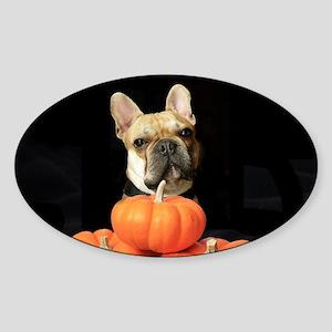 Halloween French Bulldog Sticker