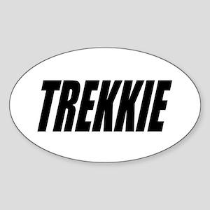 Trekkie Gifts: Sticker (Oval)
