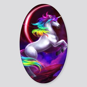 9x12_unicorndream Sticker (Oval)
