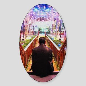 Frank in Wonderland Sticker (Oval)