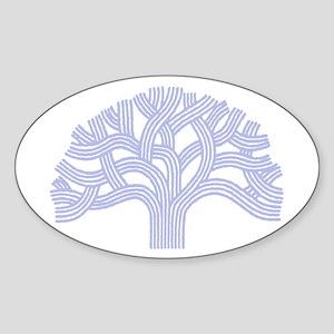 Oakland Skies Sticker (Oval)