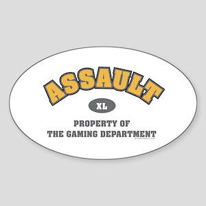 BF2 Assault Oval Sticker