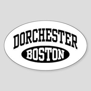 Dorchester Boston Sticker (Oval)
