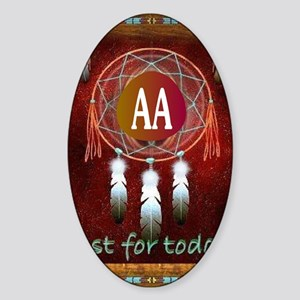 AA INDIAN Sticker (Oval)