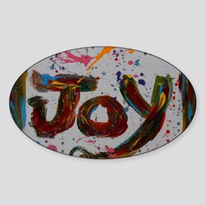 joy Sticker (Oval)