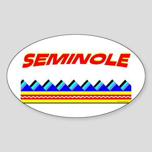 SEMINOLE TRIBE Sticker (Oval)