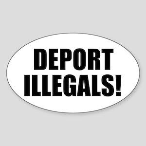 Deport Illegals Sticker