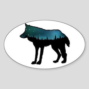 WOLF NIGHTLY Sticker