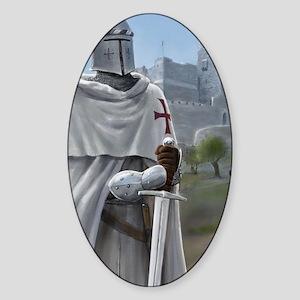 templar citadel 1 Sticker (Oval)