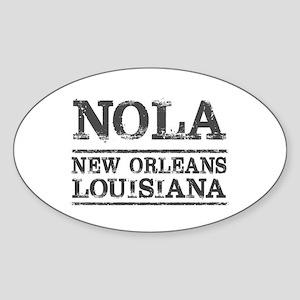 NOLA New Orleans Vintage Sticker