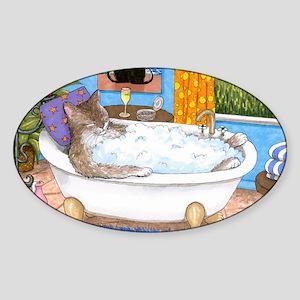 cat 567 Sticker (Oval)