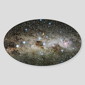 Crux constellation Sticker (Oval)