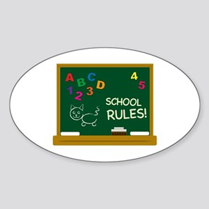 School Rules! Sticker